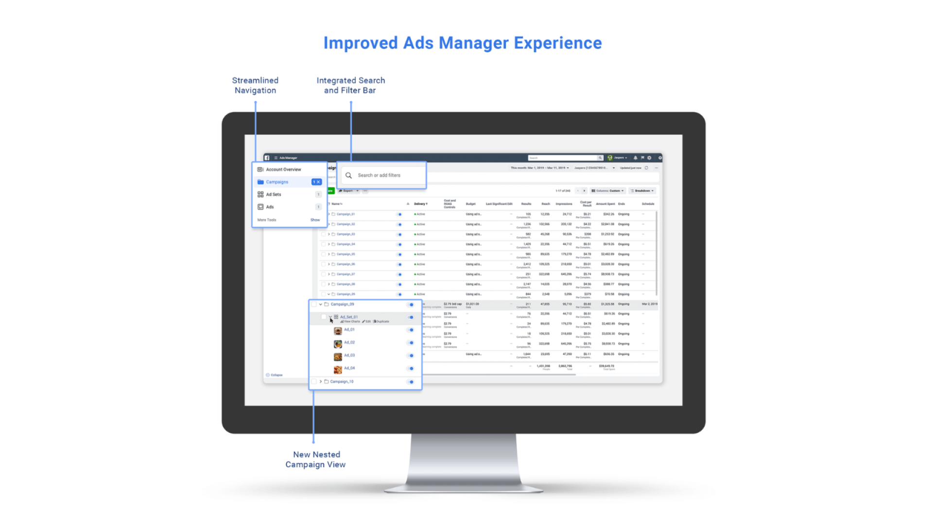 Facebook's updated Ads Manager UI is easier to navigate, but more work still needed, say advertisers