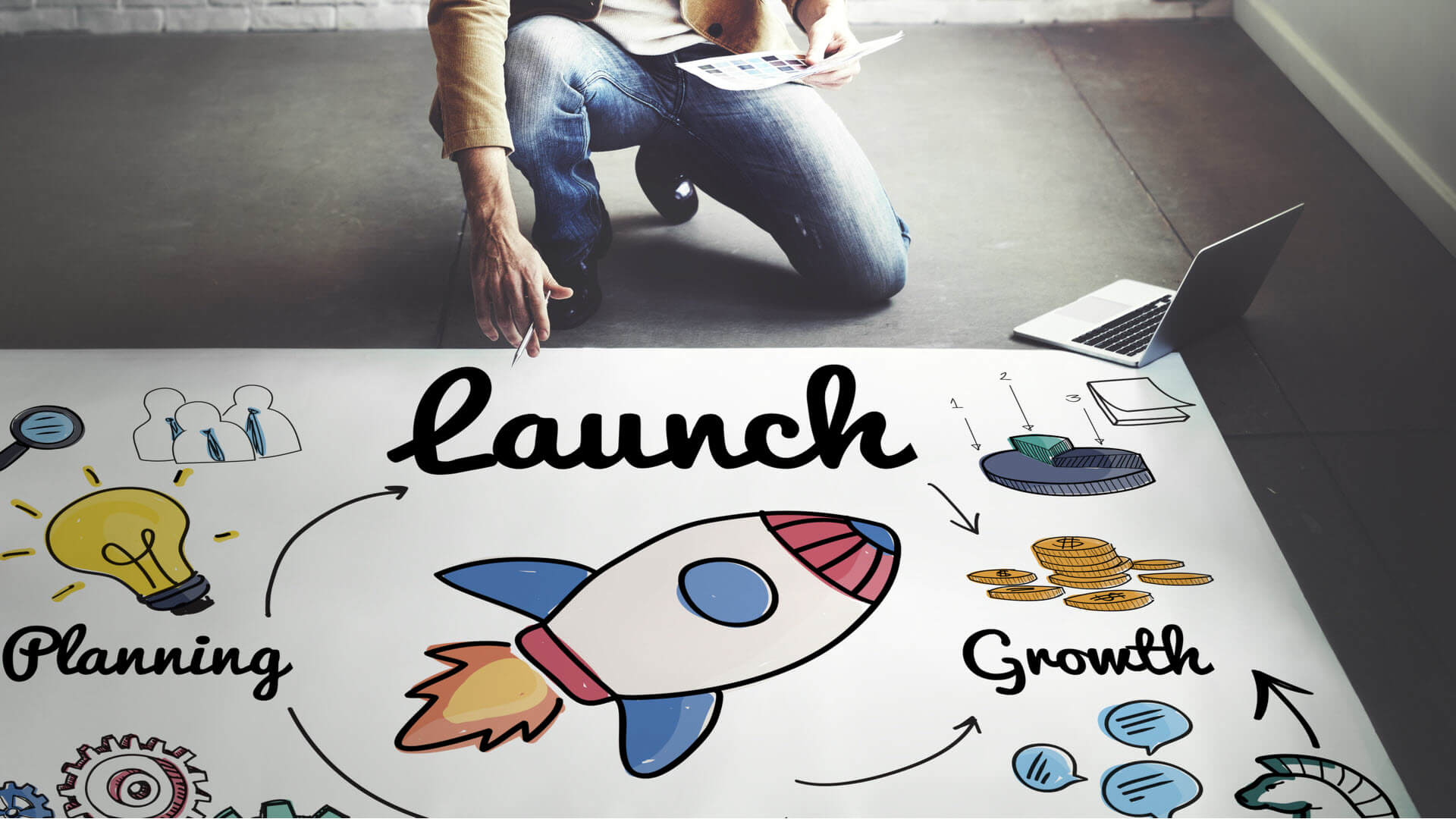 7 steps to a successful website launch